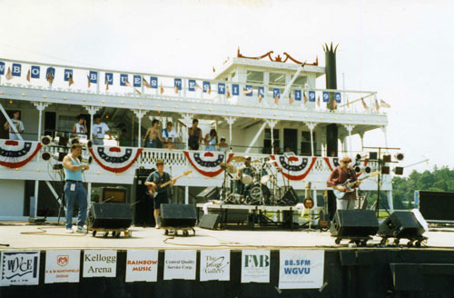 The 1995 Showboat Blues Festival (Jimmie Stagger Band)