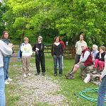 Friends of the Wissahickon's Trail Ambassadors visit Courtesy