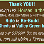 Ride to Rebuild the Warming Sheds at Valley Green Inn