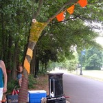 Freedom Park Yarn Bombing - June 11, 2011