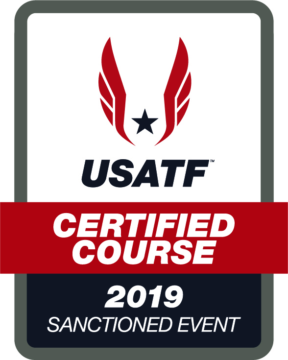 USATF Cert Course Sanctioned Event 2019