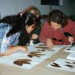 Teachers_examine_arborteum_samples