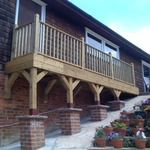 Decking / Pillars and more