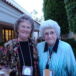 Mary_cochran_and_sandra_ford_enjoy_the_courtyard_reception