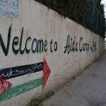 Nonviolent resistance through art in Aida refugee camp