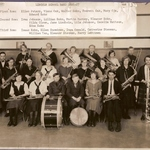 Isaac Esko with 1926-27 Band