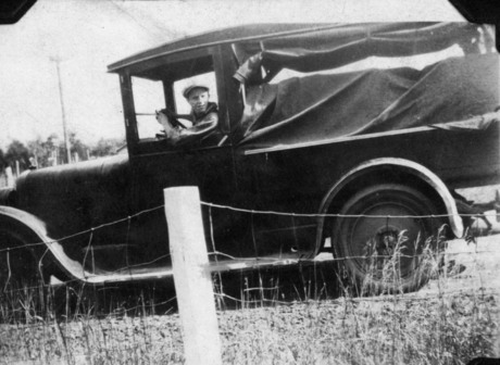 Early Home Delivery Truck