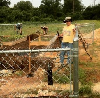 Volunteers at Work