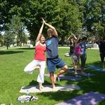 Yoga in Victoria Park