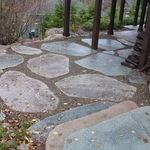 Sawn Boulder Patio