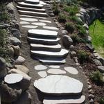 Sawn Boulder Steps / Walk
