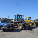 Small Dump Truck - Large & Small Loaders