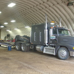 50 Ton Low Boy Flat Bed Semi
