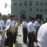 Memorial Ceremony on Bridge between RI and CT