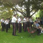 Wilcox Park, Westerly Memorial Ceremony
