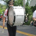 Charlestown Parade 2012--Kim on bass drum