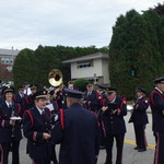 Tuning and getting ready for columbus Day Parade 2012