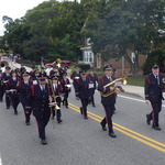 Marching up Grove Street-Columbus Day 2012
