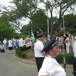 Ceremony on North Side Westerly, Mount Carmel Procession 2012