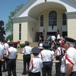 St. Marys Church Procession, Stonington, CT June 2012