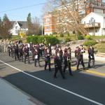 Marching down Broad Street, Pawcatuck, CT