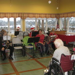 preparing for Carols at Watch Hill Apple Rehab