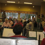 Watch Hill Carolling concert --from the musician's point of view