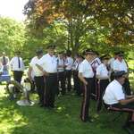 Westerly Catching some shade before Ceremony