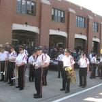 At Firehall-Westerly Fireman's Parade