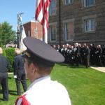 Ceremony at Firehall
