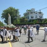 Stonington Fatima Procession St. Marys Church