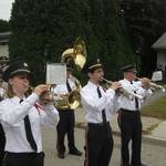 trumpets playing fanfare