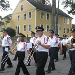 Marching through Stonington Borough