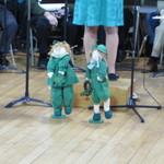 Irish Dancers at concert
