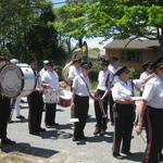Charlestown, RI Parade lining up