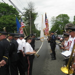 Ceremony at Pawcatuck Memorial on Rt 1