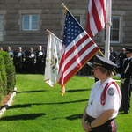 Ceremony for fallen firefighters 2014