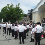 Beginning Procession of Our Lady of Fatima