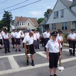 On Jay Street ready for procession