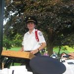 Alison Patton, conductor, prepares for concert