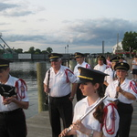 Mystic River Boardwalk ready for parade into concert