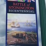 Battle of Stonington street banner