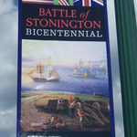 Battle of Stonington street banner