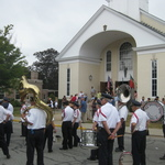 Ready for procession after Mass