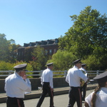 Crossing the Stillman Ave Bridge into Pawcatuck, CT II