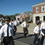 Marching past Pawcatuck Fire Depart