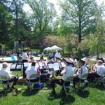 Beautiful Spring Day concert at Garden market Fair