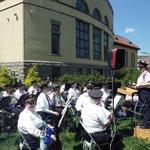 Garden Market Fair concert May 17, 2015