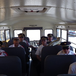 Bus Ride after Parade to  Ninigret Park, Charlestown, RI