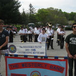 Westerly-Pawcatuck Memorial Day  -Spanish Exchange students